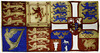 Christie's Sale 6188, 17 September 1999, Lot 265. Royal Standard.<br /> 265 <br /> SIR ERNEST HENRY SHACKLETON (1874-1922) <br /> A painted silk Royal Standard displaying the British Royal Arms as borne by King Edward VII impaling the Arms of Queen Alexandra <br /> 41 x 79-1/2in. (104.2 x 201.9cm.) <br /> PROVENANCE: <br /> Sir Ernest Henry Shackleton, a gift from the Dowager Queen Alexandra, presented on board S.Y. Endurance at South West India Dock, 16 July, 1914; by descent. <br /> The King and Queen took a keen interest in Antarctic expeditions from the outset, King Edward and Queen Alexandra inspecting Scott's Discovery at Cowes before she sailed in August 1901, and the Queen's friendship with Shackleton in particular seems to have started here ('The Queen noticed the fine carnations which Dr. Shackleton had sent to decorate his son's cabin …' H.R. Mill, The Life of Sir Ernest Shackleton, London, 1923, p.60). <br /> Six years later, Shackleton received a telegram from the King's equerry 'commanding the Nimrod to visit Cowes in order to enable their Majesties the King and Queen to come on board and inspect the ship and equipment on Sunday, August 4 ... On the Sunday we were anchored at Cowes, and their Majesties the King and Queen, their Royal Highnesses the Prince of Wales, the Princess Victoria, Prince Edward and the Duke of Connaught came on board. The King graciously conferred upon me the Victorian Order, and the Queen entrusted me with a Union Jack, to carry on the southern sledge journey' (E.H. Shackleton, The Heart of the Antarctic, London, 1909, I, p.85). 'The occasion was all that Shackleton could desire ...The Queen in particular was struck by the personality of the leader. She and King Edward were to take a considerable interest in the career of this man who, more than any other explorer in the twentieth century, looked and acted the part.' (M. and J. Fisher, Shackleton, London, 1954, p.130). She in turn became Muse to the diarist at Cape Royds: 'last night as we sat at dinner the evening sun entered through the ventilator and the circle of light ... shone full on the portrait of HM slowly it moved across and found the portrait of Her Majesty: it seemed an omen of good luck for only on this day and at that particular time could this have happened and today we started to strive and plant Her flag on the last spot of the world that counts as worth the striving for though ungilded by aught but adventure.'<br /> <br /> On the return of the Nimrod expedition Shackleton gave a lecture before the King at Balmoral: 'The atmosphere of ease and cordiality did not come only from gracious royalty. It was something called forth by Shackleton himself, by his spontaneous enjoyment of praise and attention; and the King and Queen seem to have felt a keener personal interest in him than was customary in those whose duty it was to appear interested in everything. It was not long before His Majesty was to make clear in a public manner the extent of his appreciation of Shackleton. On 1 November 1909, a note went out from 10 Downing Street to Shackleton telling him that his name would appear in the Honours List on the King's Birthday, and his knighthood was announced in the List on 9 November.' (M. and J. Fisher, op. cit, p.272). Touring Scandinavia in 1909, Queen Alexandra attended his lecture on the Nimrod expedition at the Geographical Society in Copenhagen. <br /> Four years later in July 1914, the Endurance lay in the Thames preparing to sail from South West India Dock: 'The Dowager Queen Alexandra, keenly interested as always in Shackleton's plans, brought her sister, the Empress Marie Feodorvna of Russia, and the Princess Victoria ... Queen Alexandra had arranged to stay for half an hour but her visit became three times as long, for she insisted on being shown all over the ship, commenting favourably on the appointments and posing for numerous photographs. Her royal sister had brought a camera, and copies of some of the groups she took were afterwards sent to Shackleton at Queen Alexandra's request .. .The Queen presented Shackleton with a silk replica of her own personal standard and a Union Flag, together with two Bibles, one for him and one for the ship. When the ship was preparing to sail she sent Shackleton a telegram: 'I am anxious to tell you how much I am thinking of you and the officers and men of the British Antarctic Expedition upon the eve of your departure from England. I know it must be a sad parting for all of you who are leaving their nearest and dearest but we shall follow you with our thoughts and I pray that the Almighty will have you in his gracious keeping and will guide and guard you through hardships and perils. Wish you from my heart all possible success godspeed and a safe return. Alexandra.' <br /> Both the Royal Standard and pages from her bible were saved from the wreck of the Endllrance by Shackleton (the pages kept in his pocket) and survived the boat journey, indicating the depth of their friendship in these later years, and Shackleton's own belief in the Dowager Queen as his protector. <br /> The Standard can be seen hanging in the wardroom of the Endurance in Hurley's photograph taken of the Midwinter Dinner, 22 June 1915. <br /> £10,000-15,000 <br /> US$17,000-24,000 <br /> €16,000-23,000 <br /> Sold for £56,000<br /> <br />  RoyalStandardW&D.jpg