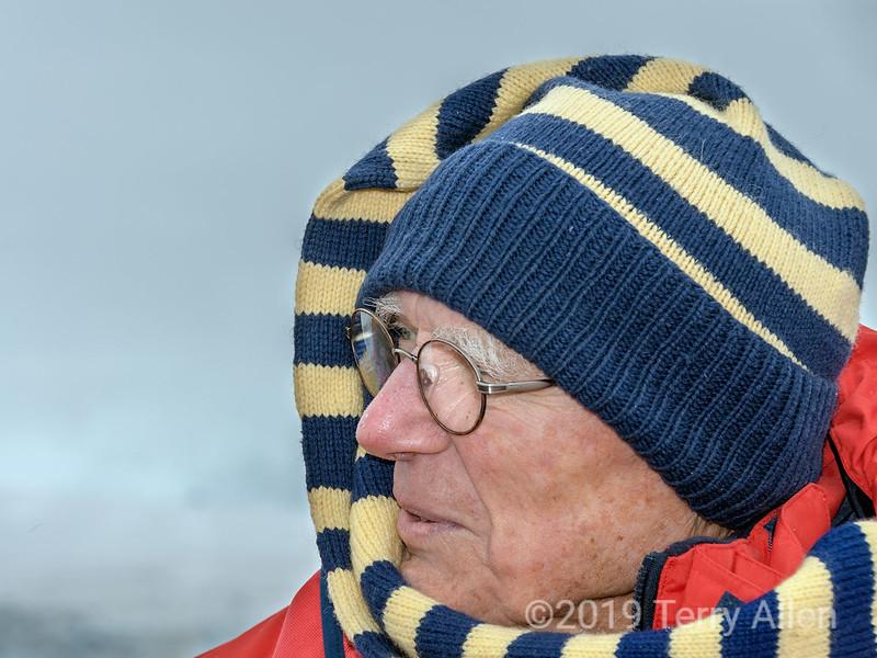 Elderly-adventurer,-Paradise-Bay,-Antarctic- Peninsula