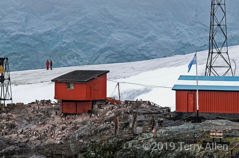 Research-station-Almirante-Brown-2,-Antarctic-Peninsula