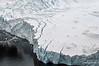 Fractured-face-of-the-glacier,-Neko-Harbour,-Antarctic-Peninsula
