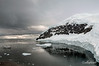 Neko-Harbour-with-Le-Diamant,-a-sense-of-scale, Antarctic Peninsula
