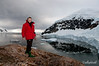Enjoying-a-panoramic-view-of-Neko-Harbour-2,-Antarctic Peninsula,-Antarctic Peninsula