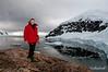 Enjoying-a-panoramic-view-of-Neko-Harbour-2,-Antarctic Peninsula,-Antarctic Peninsula