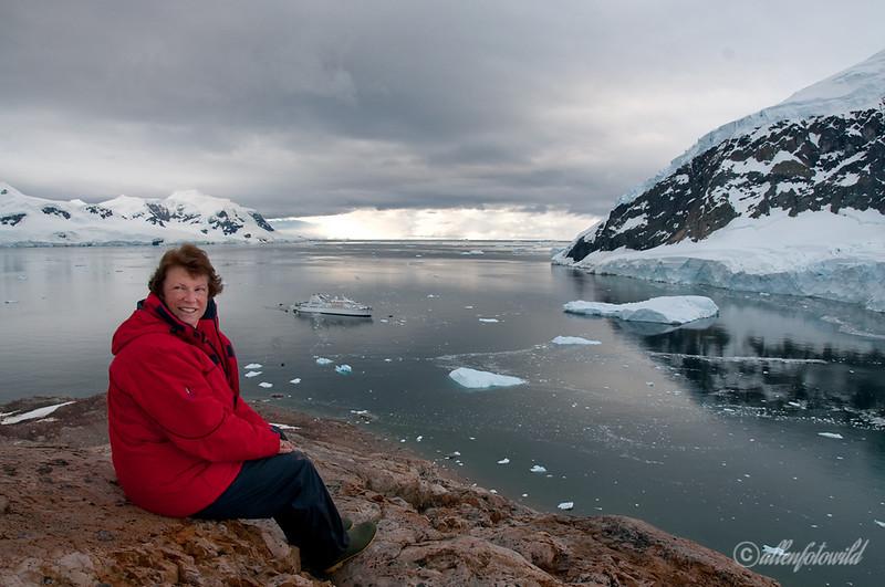 Enjoying-a-panoramic-view-of-Neko-Harbour-1,-Antarctic Peninsula