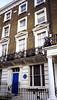 001. Scott's London house (ca. 1904 onwards), 56 Oakley Street, London SW3.