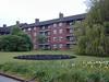 005. Blocks of flats named after Edward A. Wilson and Robert Scott. Princess Elizabeth Way, Cheltenham, Gloucestershire, UK.