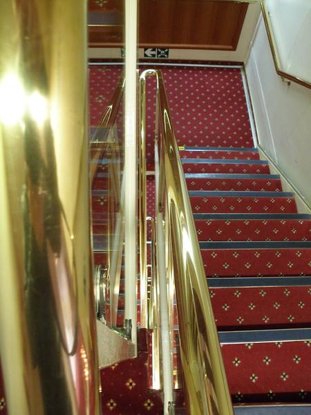 Ocean Diamond stairs