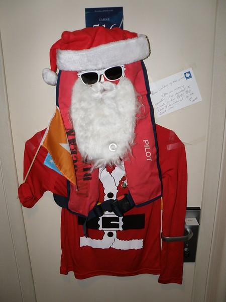 Santa visiting us