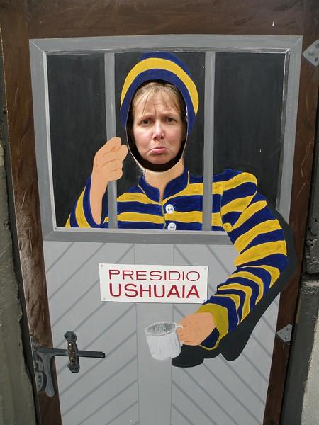 Unhappy prisoner