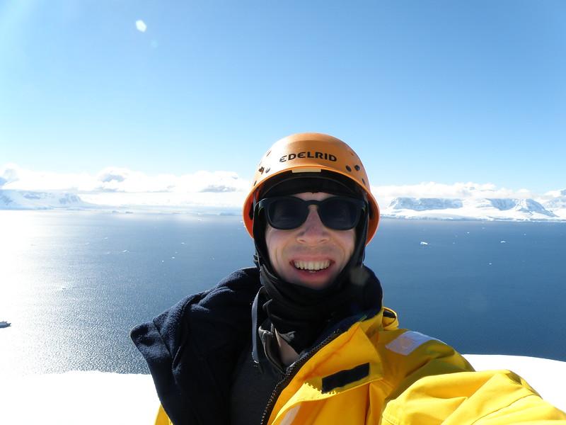 On top of the peak