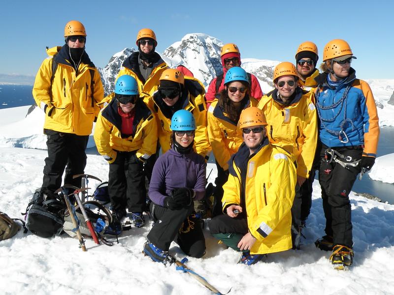 The climbing group