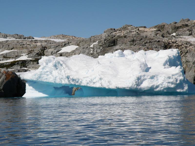 Sloped iceberg