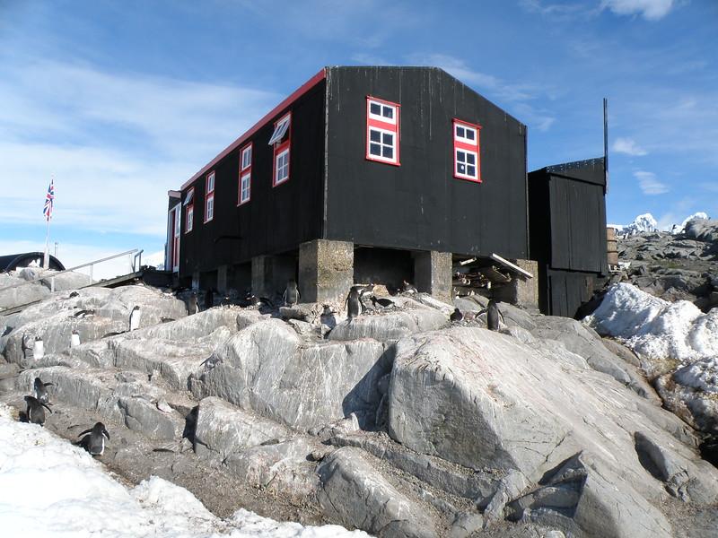 British Antarctic Survey hut