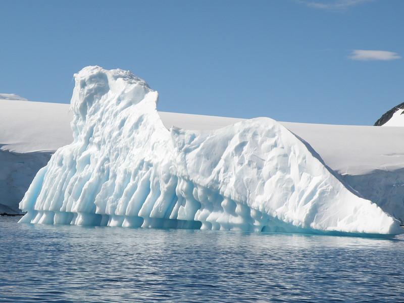 Slate like ice