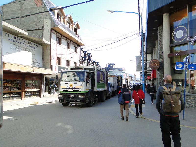 Walking around Ushuaia