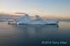 Joinville-Island-with-iceberg,-Antarctic-Sound