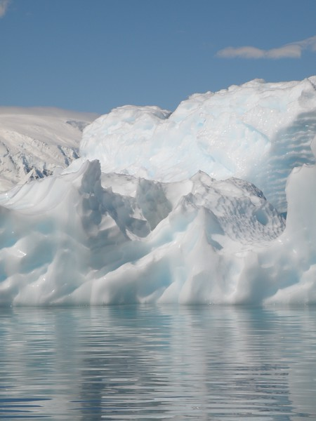 Scaled ice