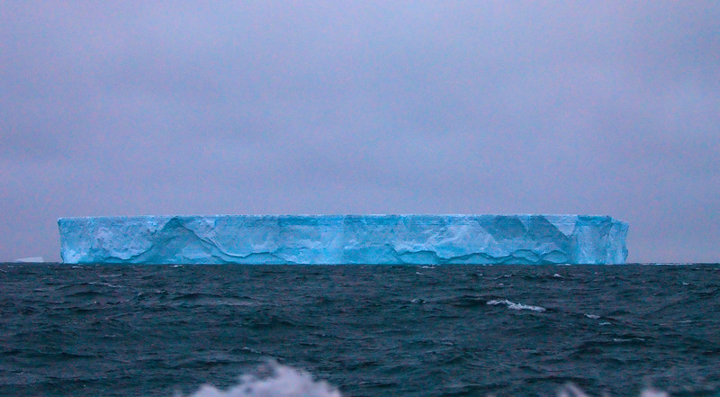A large Tabular Iceberg, about 3 km wide according to radar measurement.