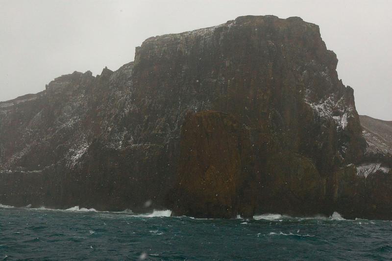 Entering Deception Island