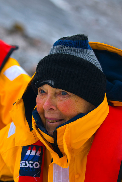 Glenna, 81 years old, has now been on all the seven continents.