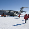 After just 5 hours of flying from Christchurch, New Zealand, we landed at Pegasus Ice Runway in Antarctica. The weather could hardly be better: clear skies, light wind and temperatures of -15°C. It's my fourth time back to the white continent.
