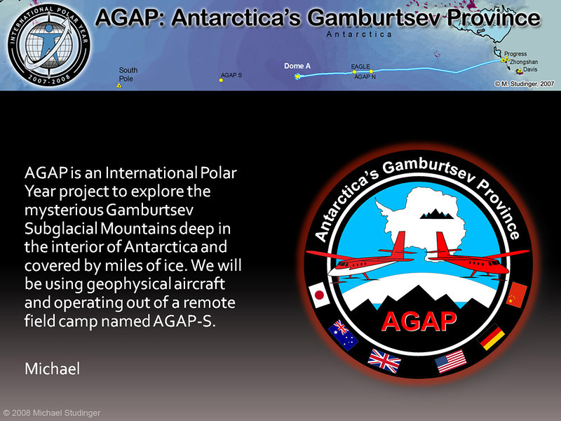 """For more information on the AGAP project go to <a href=""""http://www.ldeo.columbia.edu/~mstuding/AGAP"""">http://www.ldeo.columbia.edu/~mstuding/AGAP</a>"""