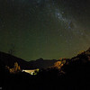 View to the west from Aoraki/Mt. Cook Village at night.