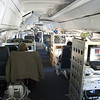 The 157 foot airliner is filled with scientific instruments.