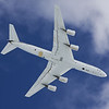 NASA 817 overflying Palmer Station during Operation Ice Bridge 2009.