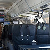 Inside the NASA DC-8 during our daily commute from Punta Arenas to Antarctica.