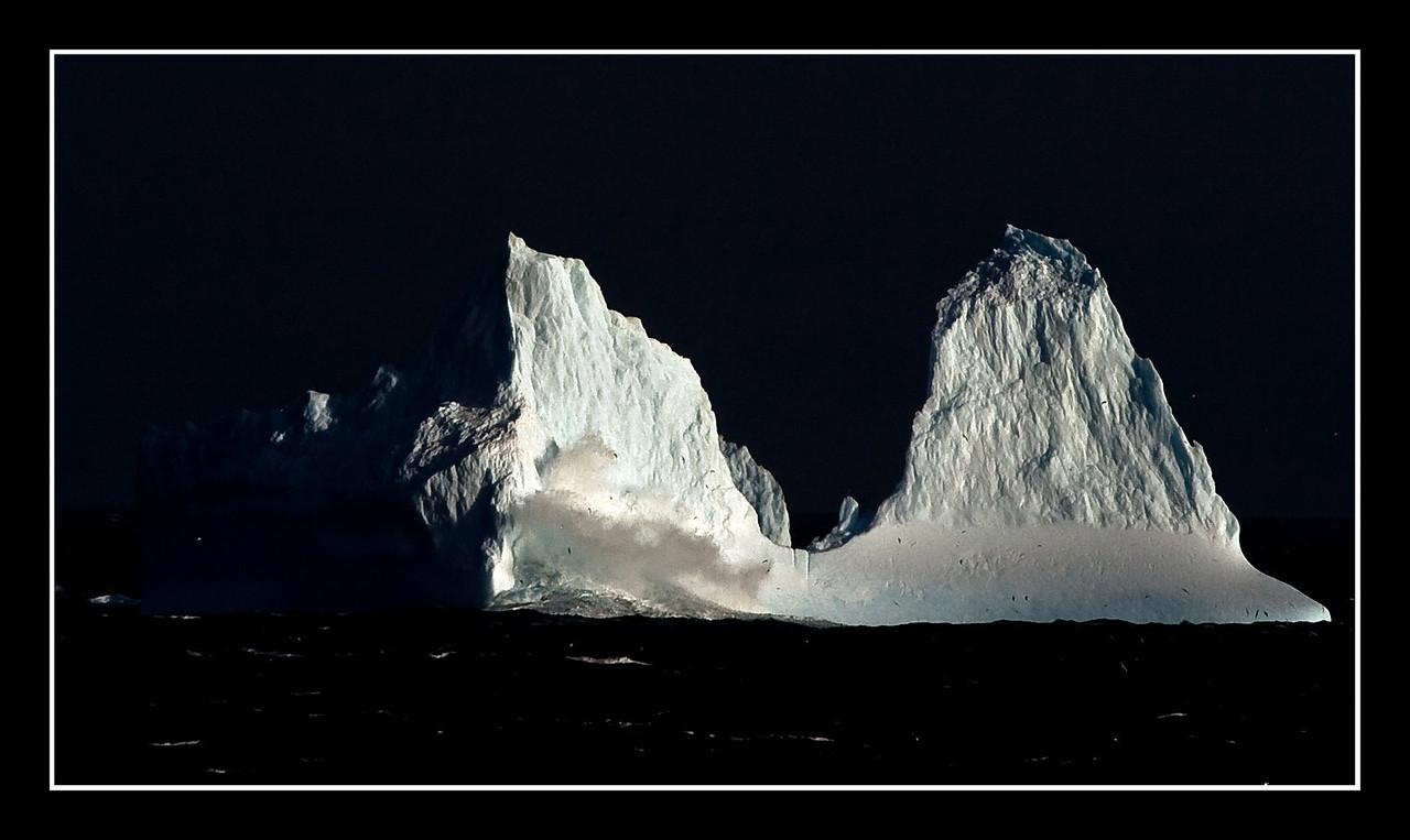 Årets første Isfjell!!
