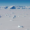 Remnats of the Wilkins Ice Shelf on Alexander Island, Antarctica.