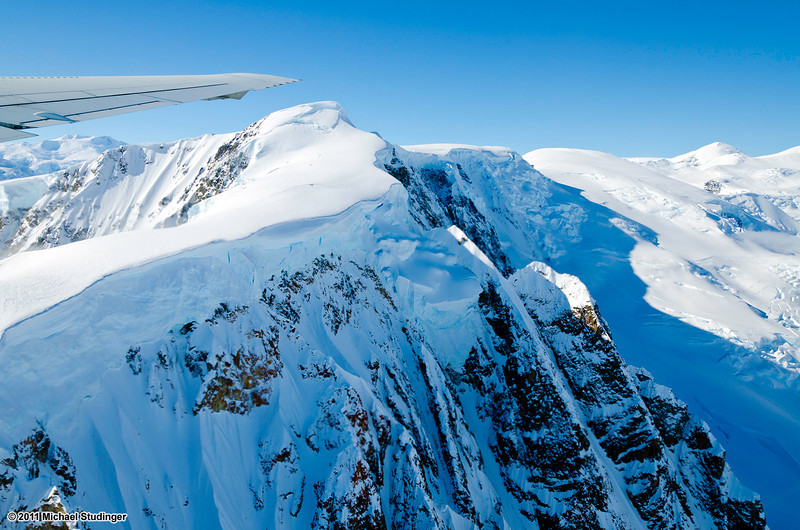 Mountains on Alexander Island, Antarctica.