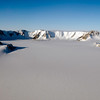 A view of the Shackleton Range, Coats Land, Antarctica, during NASA's DC-8 flight over East Antarctica on Oct. 21, 2011