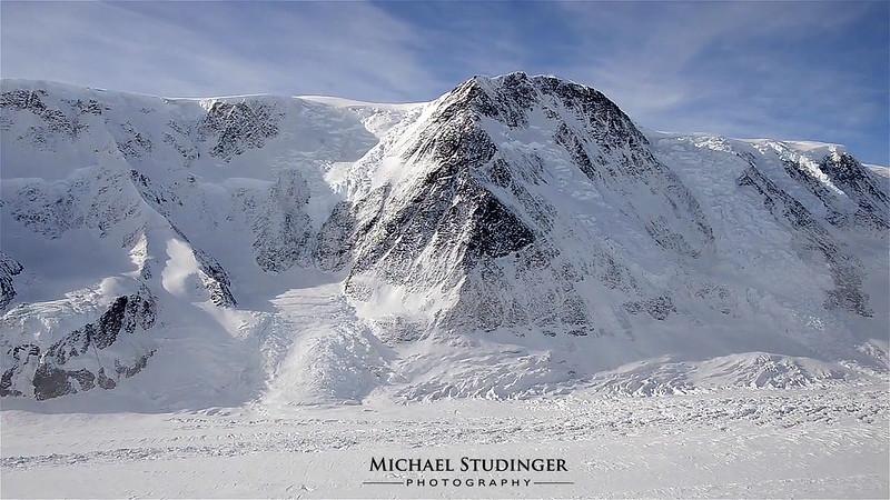 Crane Glacier and former Larsen B Ice Shelf