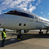 NASA's DC-8 flying laboratory is being prepared for a science mission over Antarctica that will take us to the Foundation Ice Stream and Support Force Glacier at the southern edge of the Filchner and Ronne Ice shelves.