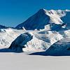 Ellsworth Mountains in Antarctica seen from NASA's DC-8.