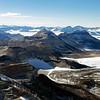 The Transantarctic Mountains.