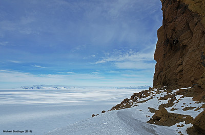 View of McMurdo area from Castle Rock.