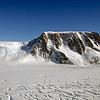 Priestley Glacier in Victoria Land, Antarctica.