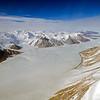 Ferrar Glacier in the Transantarctic Mountains.