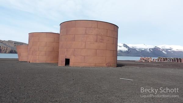 whalers bay deception island - Antarctica