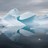 Fantastical sculptured icebergs