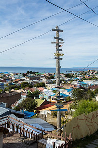 Punta Arenas, Chile.  We flew from here to Antarctica.