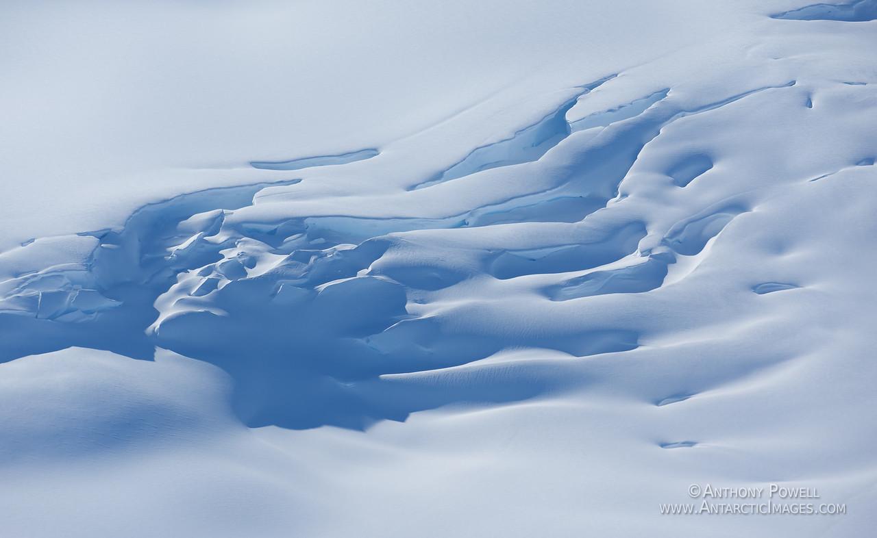 Crevasses, Mount Erebus.