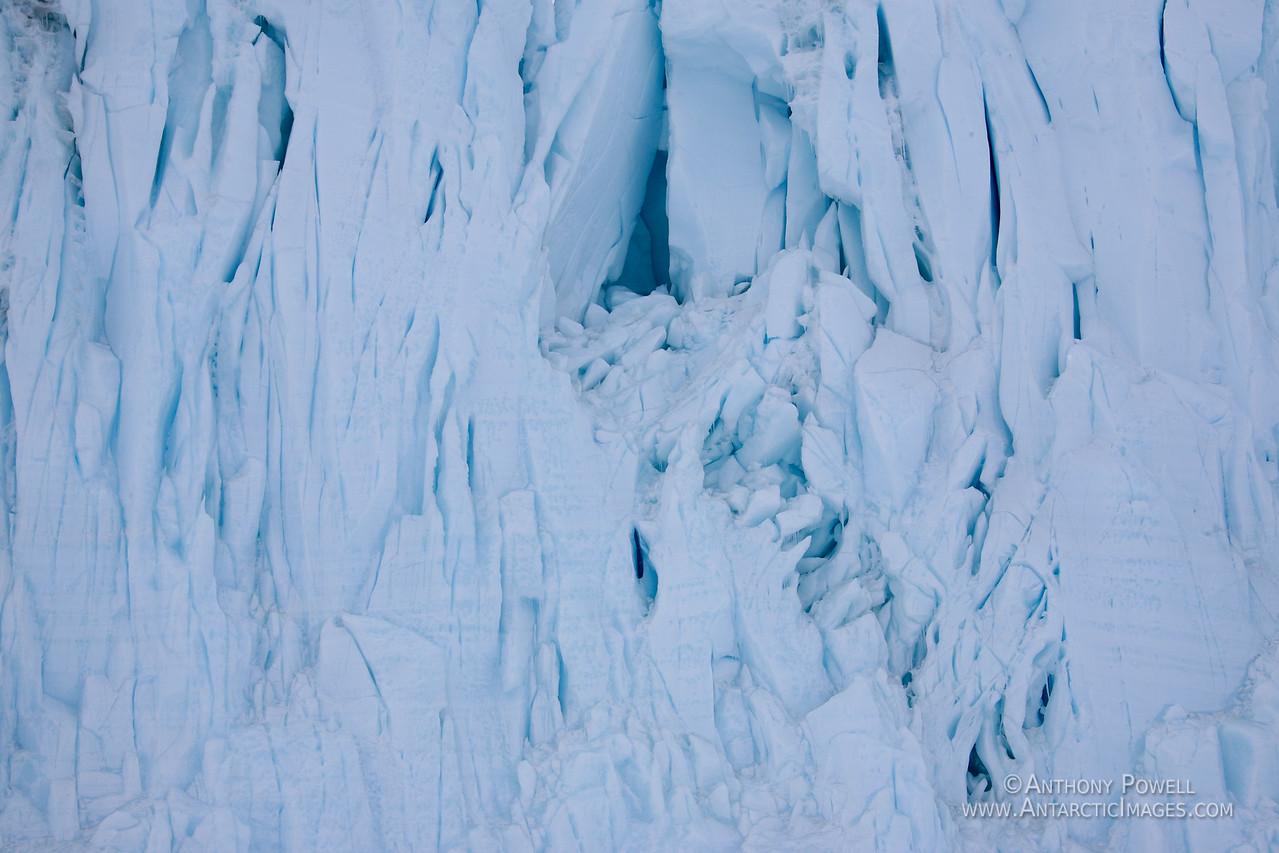 Barne Glacier face.