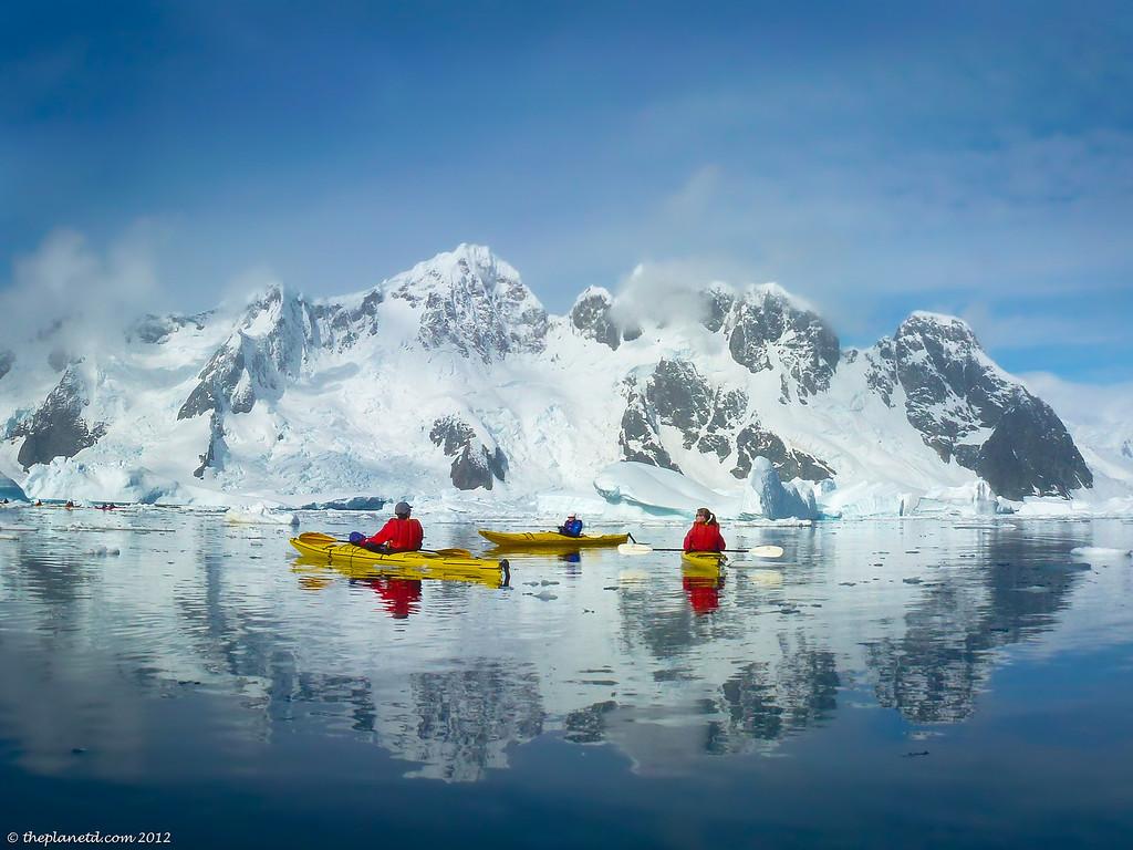 Antarctica Kayaking Our Sea Group