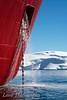 Antarctic Dream ship at Melchior Island, Antarctica