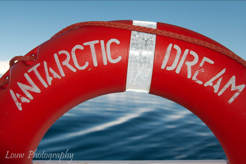Antarctic Dream lifesaver