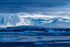 The ice cap on the Antarctic Peninsula, Antarctica.